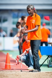 26-07-2014 NK Senioren Amsterdam Nederland Atletiek foto: Kees Nouws /