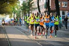 19-10-2014 TCS Marathon Amsterdam Nederland Atletiek foto: Kees Nouws /