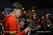 21-11-2014 Warande by Night Tilburg Nederland Atletiek foto: Kees Nouws /