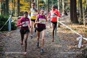 23-11-2014 Warandeloop Tilburg Nederland Atletiek foto: Kees Nouws /