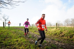 17-01-2015 Abdijcross Trail Run Rolduc Kerkrade Nederland Atletiek foto: Kees Nouws :