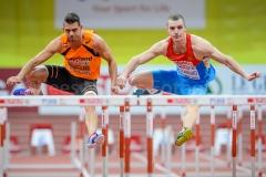 08-03-2015 EK Indoor Atletiek Praag Tsjechie Atletiek foto: kees Nouws :