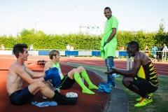 11-07-2015 Guldensporenmeeting Kortrijk Belgie Atletiek foto: Kees Nouws :