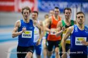 07-02-2015 IFAM INdoor Meeting Gent Belgie Atletiek foto: Kees Nouws /