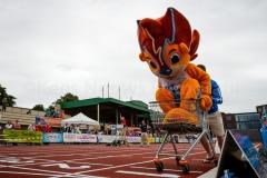 05-07-2015 Klaverblad Arena Games Hilversum Nederland Atletiek foto: Kees Nouws :