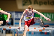 01-03-2015 NK Indoor Junioren Apeldoorn Nederland Atletiek foto: Kees Nouws /
