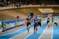 22-02-2015 NK Indoor Senioren Apeldoorn Nederland Atletiek foto: Kees Nouws /
