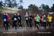 11-01-2015 PWN Halve Marathon Egmond Nederland Atletiek foto: Kees Nouws :