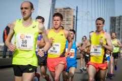 12-04-2015 Nationale Nederlanden marathon Rotterdam Nederland Atletiek foto: Kees Nouws :