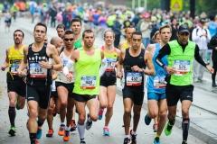 18-10-2015 TCS Amsterdam Marathon Olympisch Stadion Amsterdam Nederland Atletiek foto: Kees Nouws /