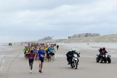 10-01-2016 Saucony Halve Marathon Egmond Nederland Atletiek foto: Kees Nouws /