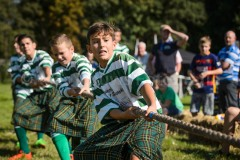 WOUWSE PLANTAGE, 24-09-2016 Dorpsdag Pinse Highland Games