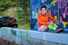 21-10-2014 Losse Veter Magazine Mildred Haans Lommel Belgie foto: kees Nouws :