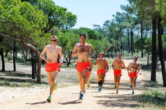 02-05-2015 Trainingskamp Team Distance Runners Monte Gordo Portugal foto: kees Nouws :